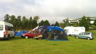 Stafford Hospital protest camp