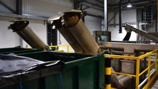 Inside Guernsey's £11m sewage screening plant at Belle Greve