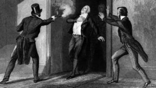 Death of Mr Perceval