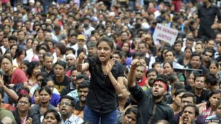 The alleged rape of a six-year-old in Bangalore sparked furious protests from parents