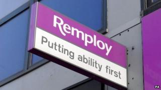 Remploy sign