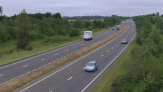 A47 in Norfolk