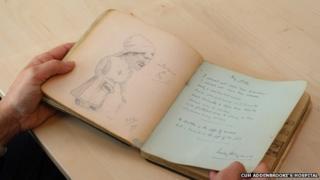 WWI autograph book