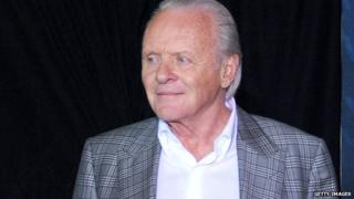 Sir Anthony Hopkins at a premier of Thor: The Dark World