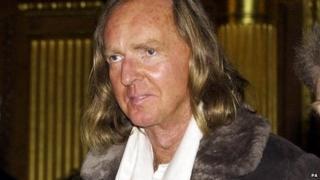 Sir John Tavener at a concert in 2000