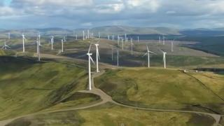 Proposed wind farms around Loch Ness and the Great Glen have caused concern.