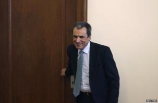 Bulgarian Prime Minister Plamen Oresharski in Sofia, 23 July
