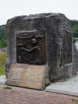 Abercynon mining memorial - since restoration