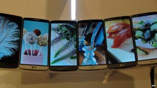 LG G3 smartphone models