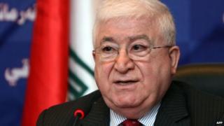 Fouad Massoum (file pic)