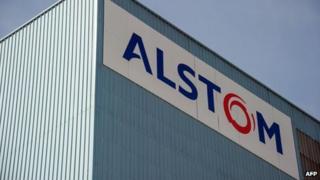 Alstom sign