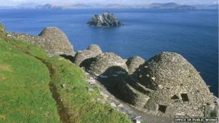 Skellig Michael, off the coast of County Kerry.