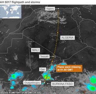 Algeria passenger plane wreckage found in Mali