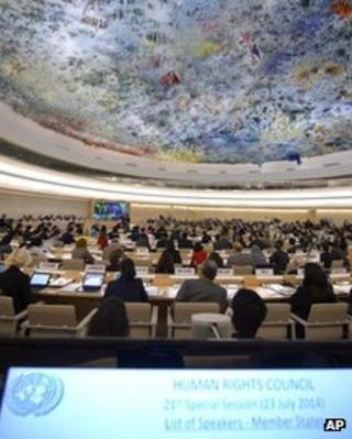 UN Human Rights Council meeting