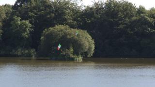 Irish tricolours