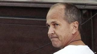 Peter Greste in court (March 2014)