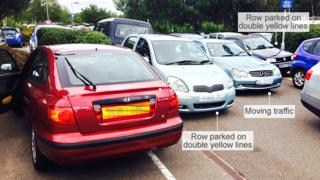 Gridlock at the Norfolk and Norwich Hospital