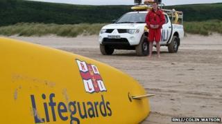 Ramsgate lifeguard - generic