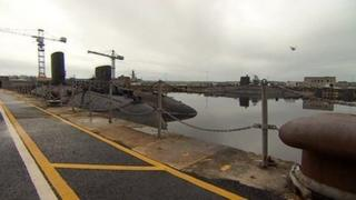 Submarines at Devonport Naval Base