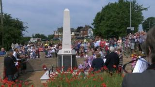 Selston war memorial