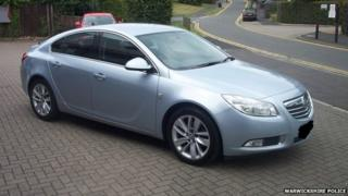 A Vauxhall Insignia