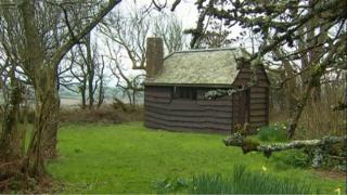 The writing hut