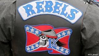 Australia Rebels Motorcycle Club jacket