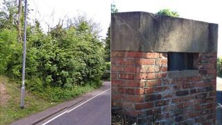 World War II pillbox, Crewkerne, Somerset