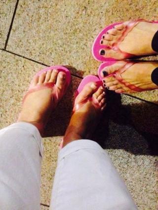 Flip flop wearers in Newcastle