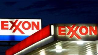 Exxon signs