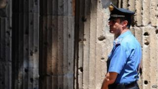 Carabinieri officer (file picture)