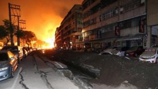 Kaohsiung gas blast