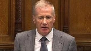 East Londonderry MP Gregory Campbell