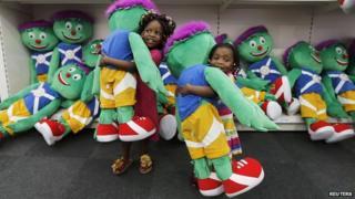 Clyde mascots