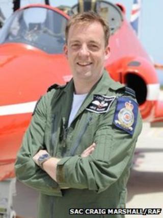 Flight Lieutenant Michael Bowden