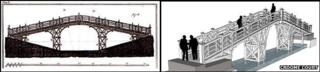 Plans of two bridge