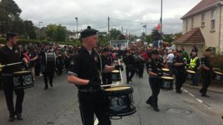 derrylin hunger strike commemoration parade