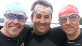 Alan Owen, Trystan Williams and Richard Harrington