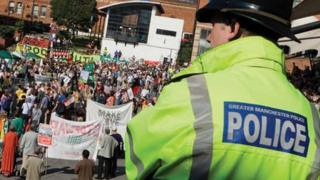 GMP at a rally