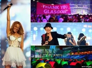 Images from closing ceremony