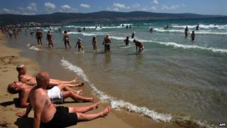 Sunny Beach resort in Bulgaria - file pic