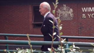 Benjamin Herman arrives at court