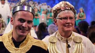 Guto Dafydd a'r Archdderwydd Christine James