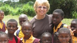 Nancy Writebol in Liberia - October 2013