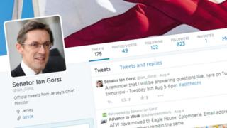 Ian Gorst's Twitter page.