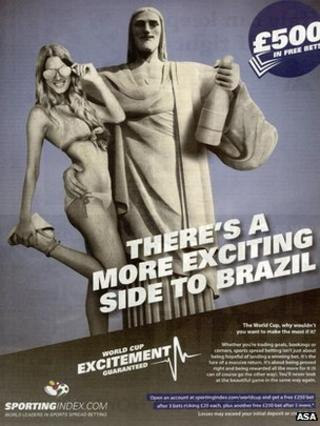 Sporting Index advert