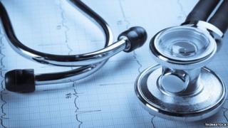 Stethoscope and charts