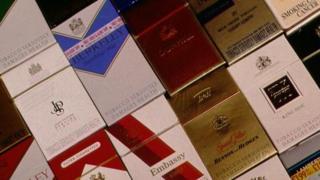 File picture of cigarettes