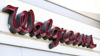 Walgreens sign, Pasadena, California