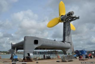 DeltaStream tidal energy generator to be installed in Pembrokeshire